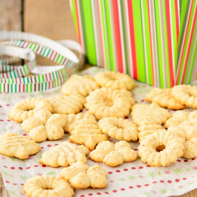 Norwegian Almond Cookies