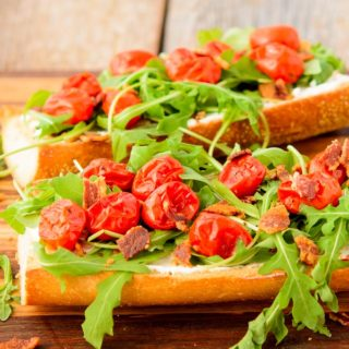 BLT Goat Cheese French Bread