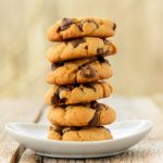 Caramel Chocolate Chip Cashew Butter Cookies | Magnolia Days