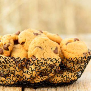 Caramel Chocolate Chip Cashew Butter Cookies