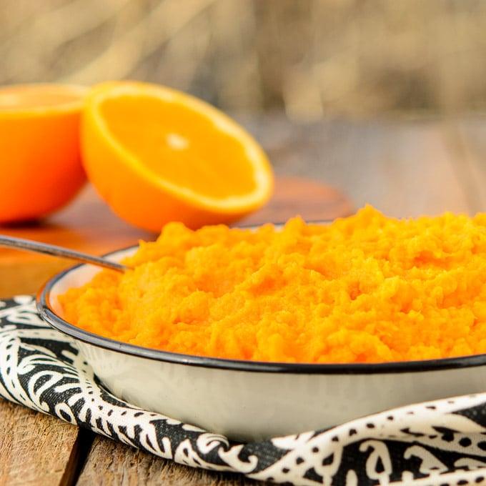 Ginger Orange Sweet Potatoes | Magnolia Days