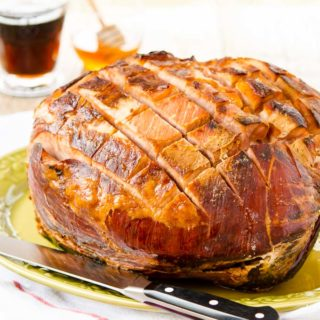 Honey Cola Baked Ham for #SundaySupper