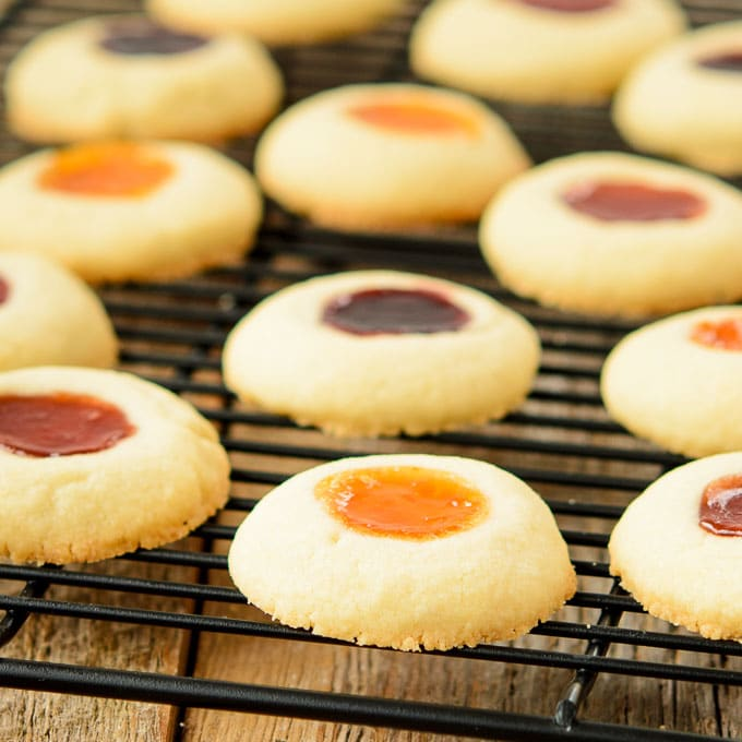 Jam Filled Butter Cookies | Magnolia Days