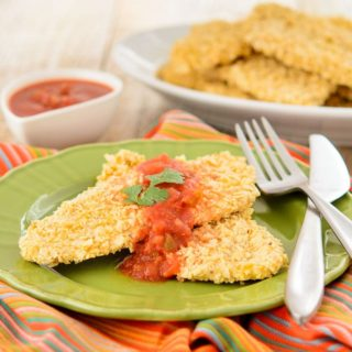 Mexican Turkey Cutlets for #SundaySupper