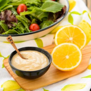Meyer Lemon Tahini Dressing | Magnolia Days