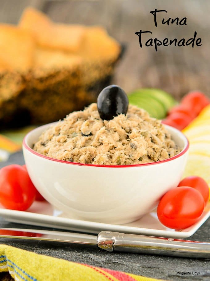 Tuna Tapenade | Magnolia Days