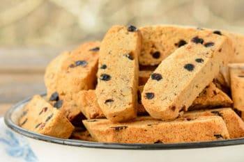 Blueberry Pecan Biscotti | Magnolia Days