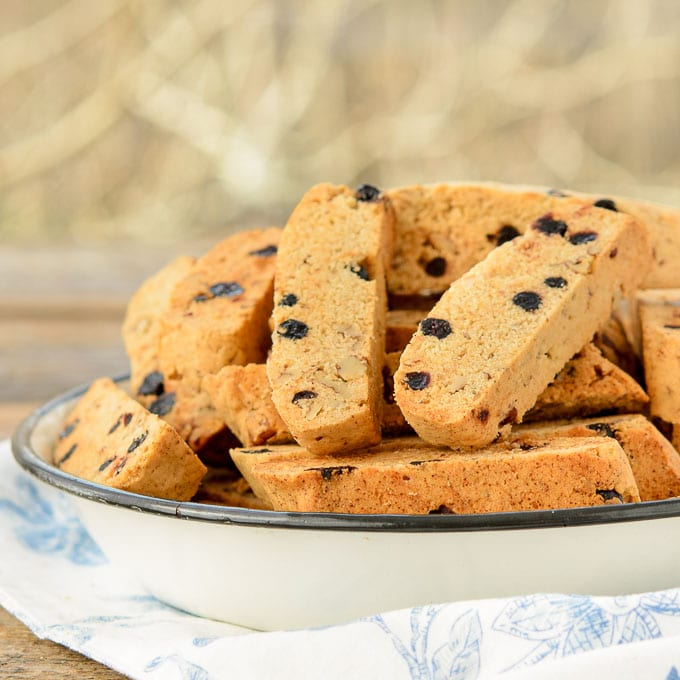 Blueberry Pecan Biscotti | Magnolia Days
