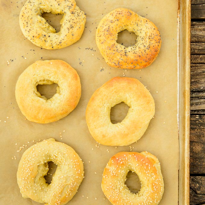 Cornmeal Bagels | Magnolia Days