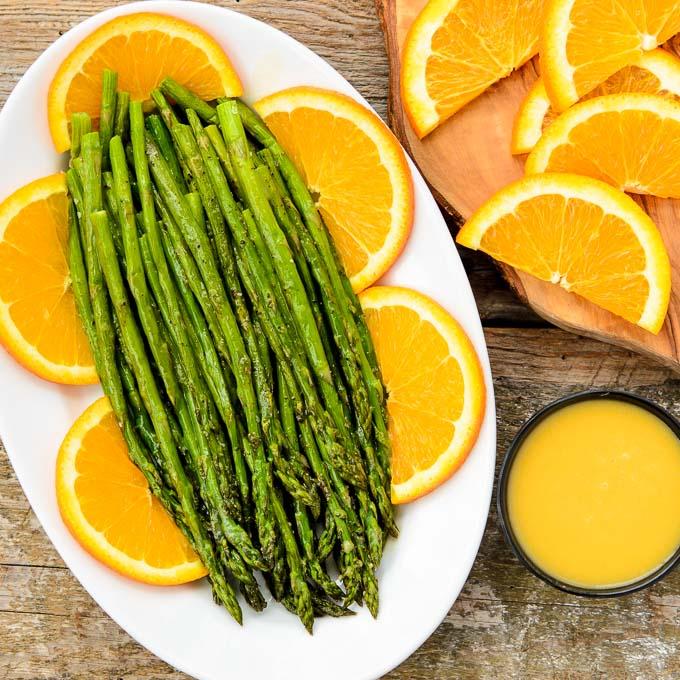 Roasted Asparagus with Orange Glaze | Magnolia Days