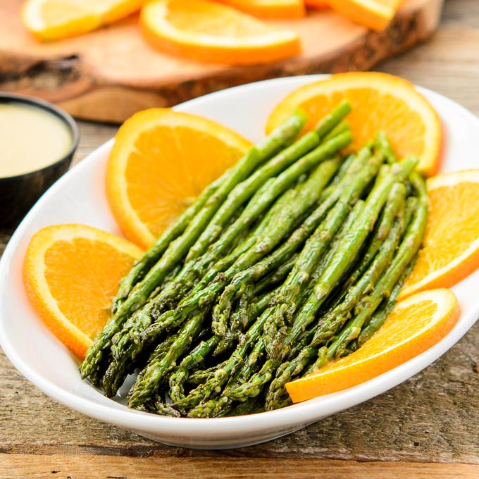 Roasted Asparagus with Orange Glaze | Magnolia Days
