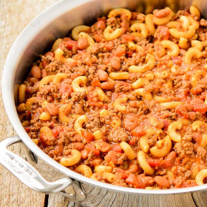 Skillet Chili Mac | Magnolia Days