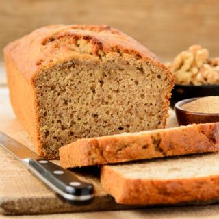 Amaranth Banana Nut Quick Bread for #BreadBakers