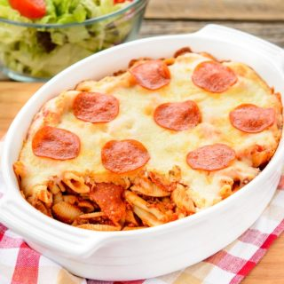 Baked Cavatini for #SundaySupper