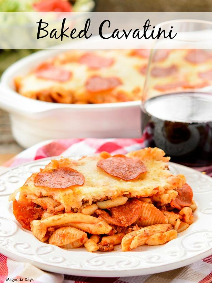Baked Cavatini | Magnolia Days