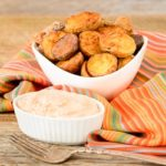 Hatch Chile Spiced Roasted Potatoes and Sauce | Magnolia Days