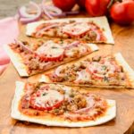 Sausage Onion Flatbread Pizza | Magnolia Days
