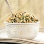 Spinach Tahini Farro | Magnolia Days