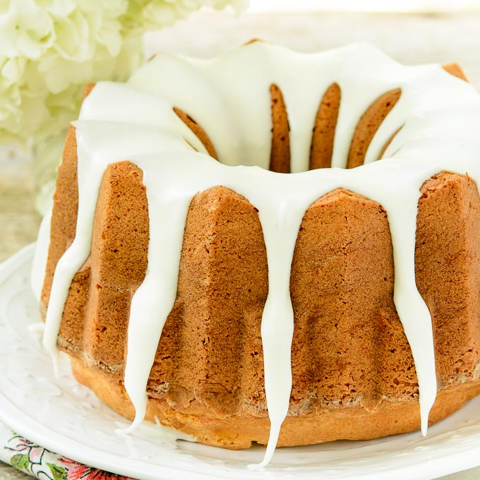 Almond Crunch Cake | Magnolia Days