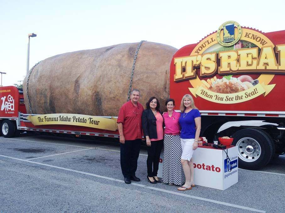 Big Idaho Potato Truck | Magnolia Days