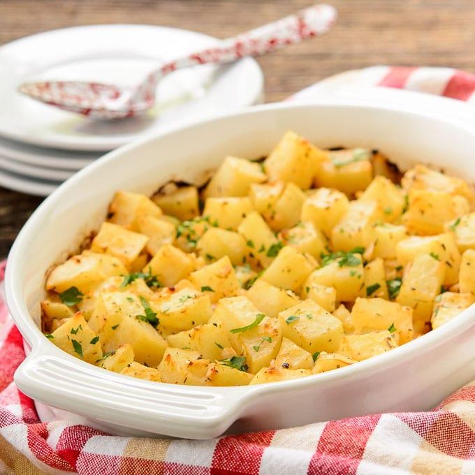 Creole Spiced Potato Bake | Magnolia Days