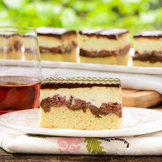 Donauwelle Kuchen (Danube Wave Cake) | Magnolia Days
