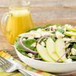 Spinach Salad with Honey Tangerine Dressing | Magnolia Days