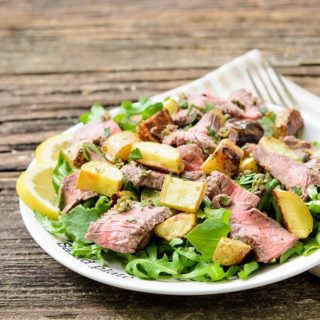 Lemon Pepper Steak Salad | Magnolia Days