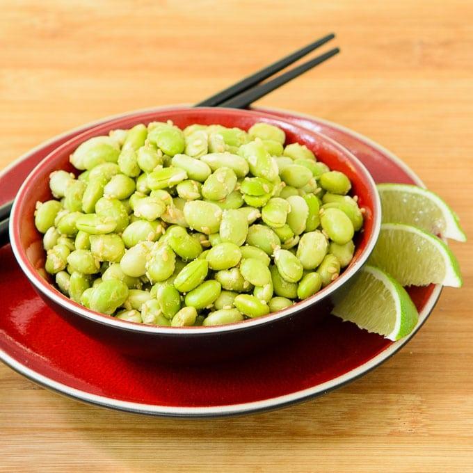 Sesame Lime Edamame | Magnolia Days