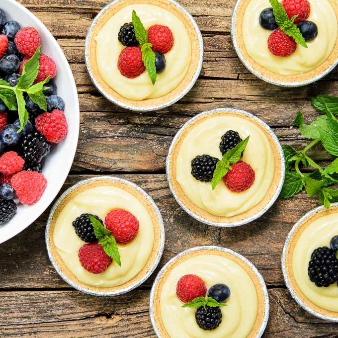 Buttermilk Tarts | Magnolia Days