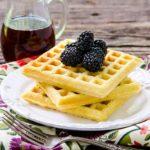 Cornmeal Buttermilk Waffles | Magnolia Days