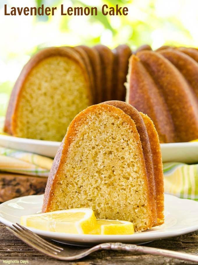 Lavender Lemon Cake   Magnolia Days