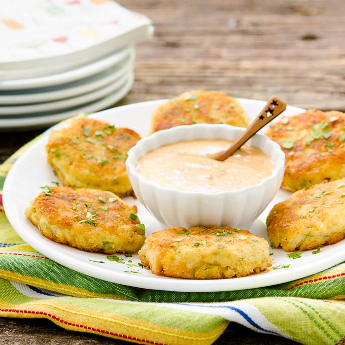 Mini Potato Crab Cakes | Magnolia Days