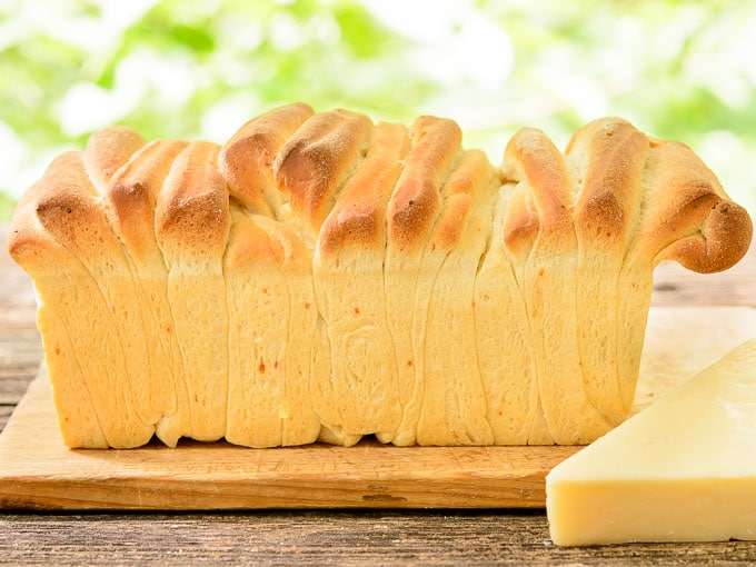 Parmesan Pull Apart Bread | Magnolia Days
