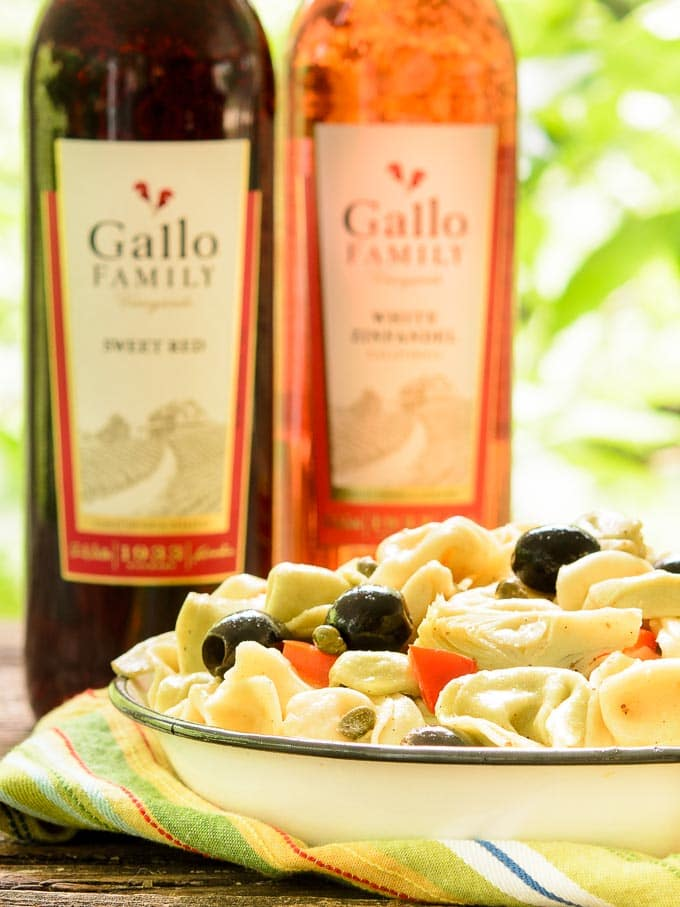 Tortellini Salad | Magnolia Days