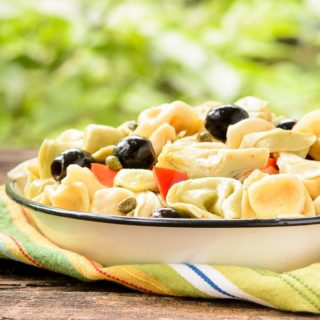 Tortellini Salad for #SundaySupper