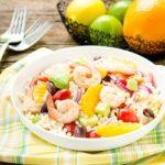 Citrus Shrimp Couscous Salad | Magnolia Days