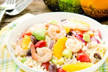 Citrus Shrimp Couscous Salad | Magnolia Days