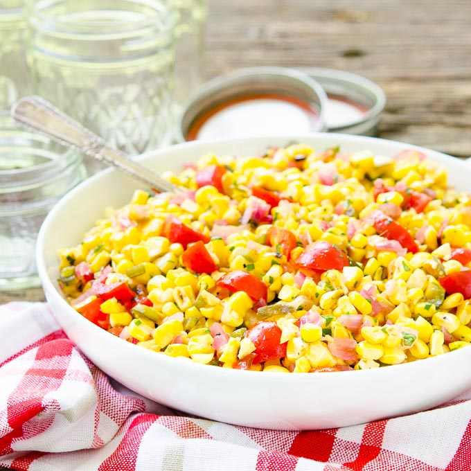 Grilled Corn Relish | Magnolia Days