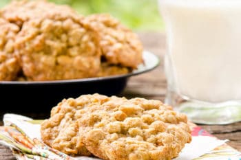 Honey Oatmeal Scotchies | Magnolia Days