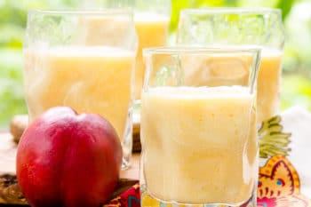 Nectarine Smoothie | Magnolia Days