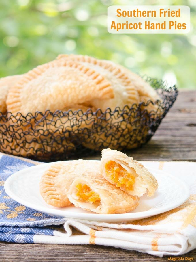 Southern Fried Apricot Hand Pies | Magnolia Days