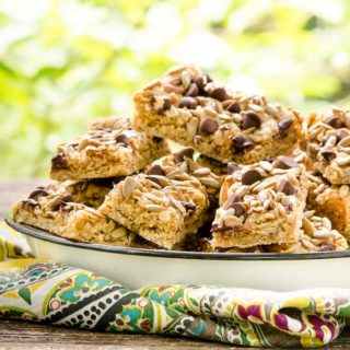 Sunflower Seed Oatmeal Bars for #SundaySupper