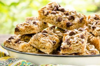 Sunflower Seed Oatmeal Bars | Magnolia Days