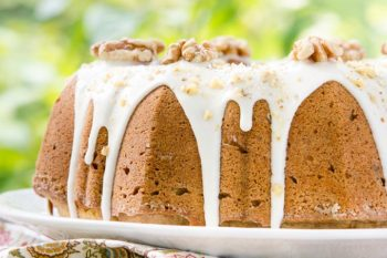 Bourbon Walnut Pound Cake | Magnolia Days