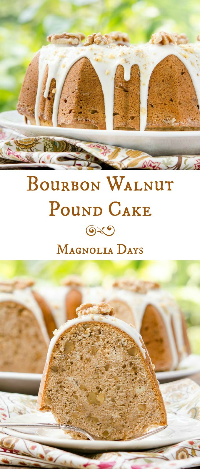 Bourbon Walnut Pound Cake Magnolia Days