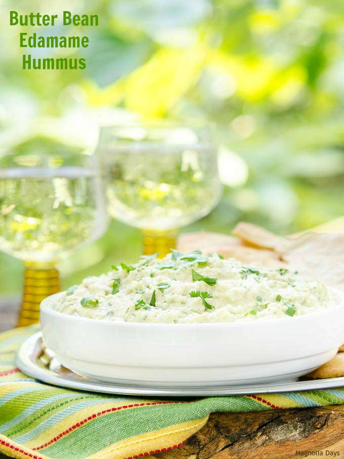 Butter Bean Edamame Hummus | Magnolia Days