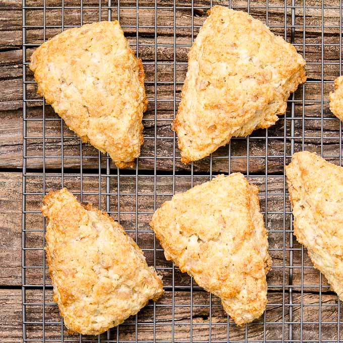 Ginger Pear Scones | Magnolia Days