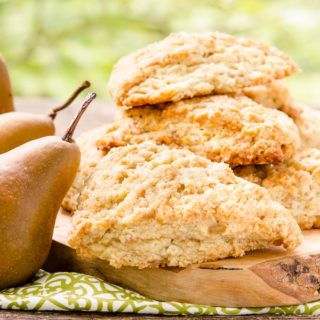 Ginger Pear Scones