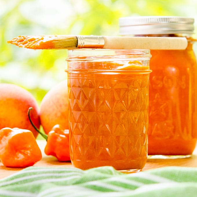 Habanero Peach Barbecue Sauce | Magnolia Days